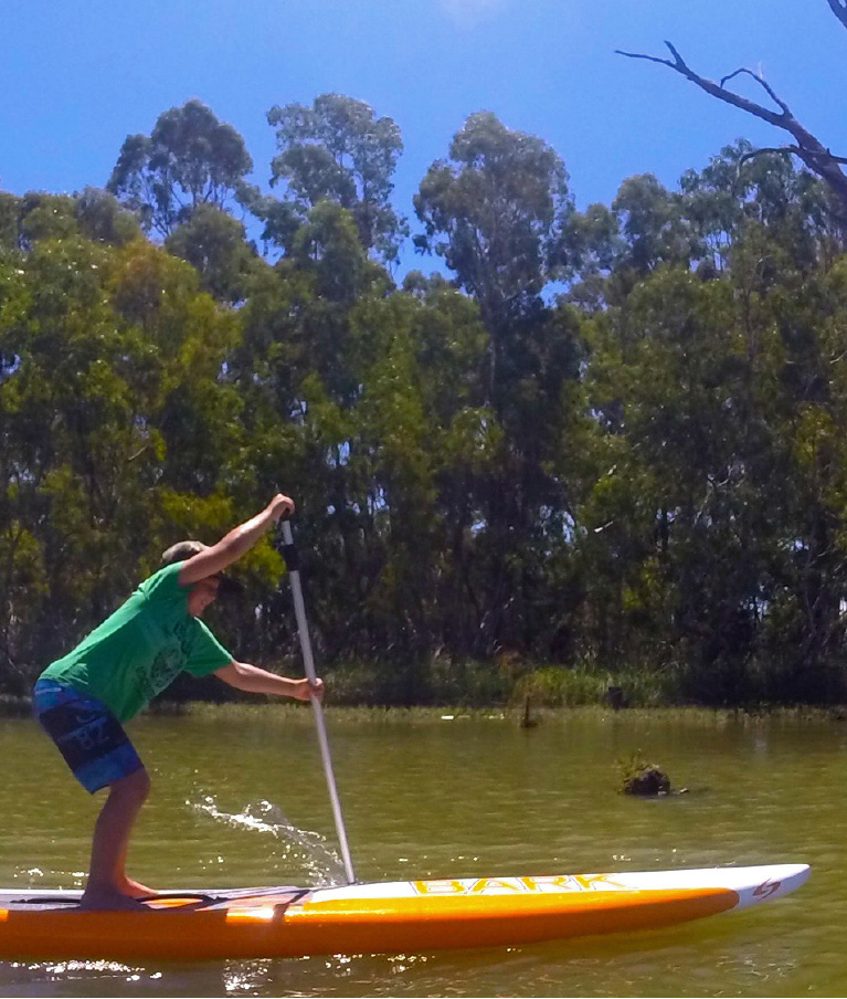 Introductory to paddleboarding
